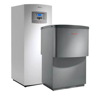Bosch Compress luft til vand varmepumpe