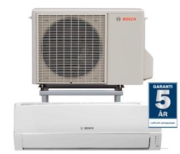 Bosch luft luft varmepume